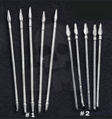 Spear - metal weapon 10 pc