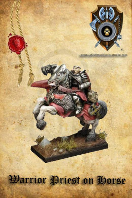 Warrior Priest/General on horse (dual kit) - 1 szt.