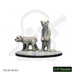 Polar Bear Cubs - 2 pcs