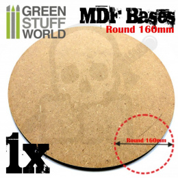 MDF Bases - Round 160mm x1