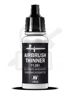 VALL 71261 Airbrush Thinner 17ml. rozcieńczalnik do aerografu