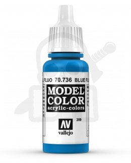 Vallejo 70736 Model Color 17 ml Blue Fluo
