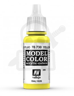 Vallejo 70730 Model Color 17 ml Yellow Fluo