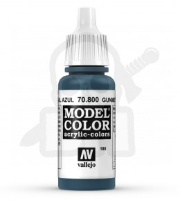 Vallejo 70800 Model Color 17 ml Gunmetal Blue