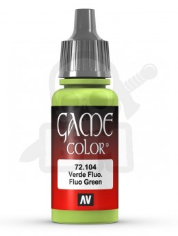 Vallejo 72104 Game Color 17 ml Fluo Green
