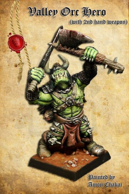 Valley Orc Hero B (with 2-handed weapon)