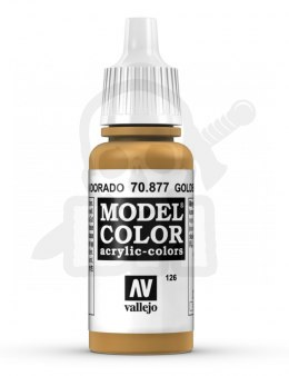 Vallejo 70877 Model Color 17 ml Goldbrown