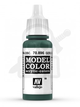 Vallejo 70896 Model Color 17 ml Ger. Cam. Extra Dark Green