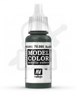 Vallejo 70980 Model Color 17 ml Black Green