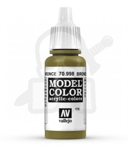 Vallejo 70998 Model Color 17 ml Bronze