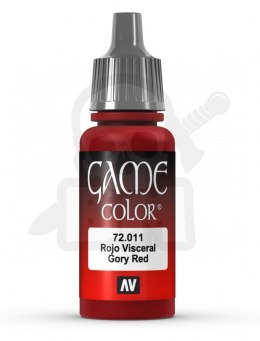 Vallejo 72011 Game Color 17 ml Gory Red