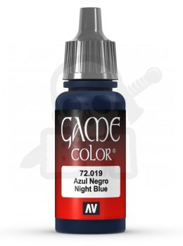 Vallejo 72019 Game Color 17 ml Night Blue