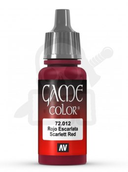 Vallejo 72012 Game Color 17 ml Scar Red