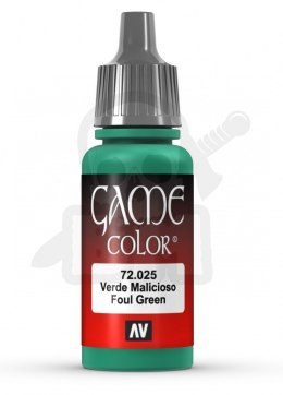 Vallejo 72025 Game Color 17 ml Foul Green