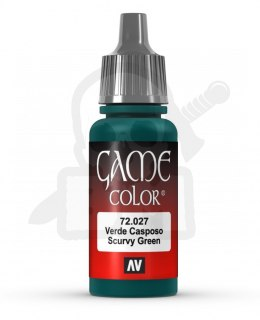 Vallejo 72027 Game Color 17 ml Scurvy Green