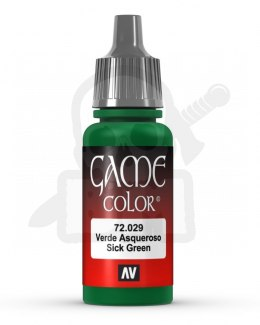 Vallejo 72029 Game Color 17 ml Sick Green