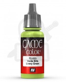 Vallejo 72033 Game Color 17 ml Livery Green