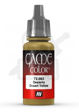 Vallejo 72063 Game Color 17 ml Desert Yellow