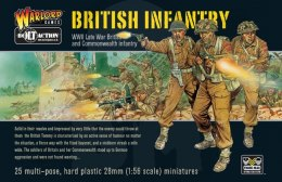 British Infantry (plastic box) 25 szt.