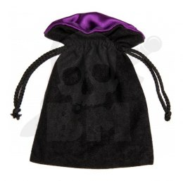 Black/Purple Dice Bag 15x12cm