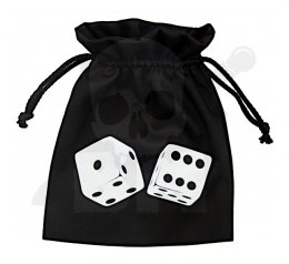 2 Dices Dice Bag 15x12cm