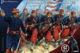 American Civil War Zouaves 1861-1865 - 42 szt.