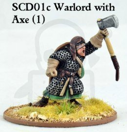 Crusader Warlord with Double Handed Weapon wojownik wódz SAGA