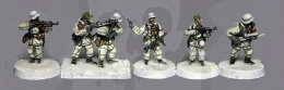 Wehrmacht Heer 1943-45 winter infantry inc LMG & NCO