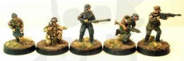Polish home army AK with piat, flamethrower, bar gunner & messenger