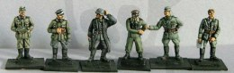 Wehrmacht Stressed officers Battle worn staff officers & general