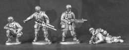 Winter Fallschirmjager special weapons MG42 Panzerfaust & Flame throwers