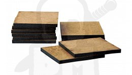 HDF Bases - Square 40 mm x10