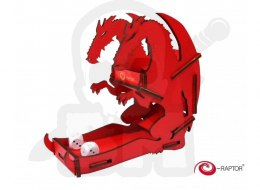 Dice Tower - Dragon Red Small