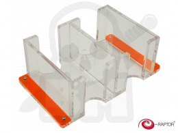 e-Raptor Card Holder - 2L Solid transparent