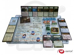 Organizer compatible with Arkham Horror
