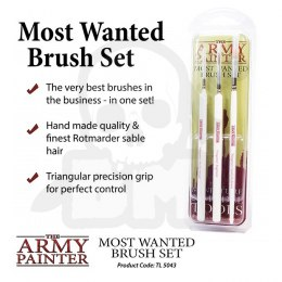 Army Painter Set Brush Most Wanted set 3 2019