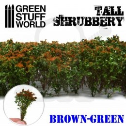 Tall Shrubbery - Brown Green