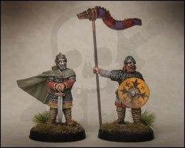 Alfred the Great and his bannerman 2 szt. SAGA