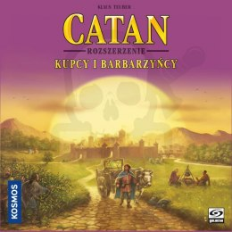 CATAN Osadnicy z Catanu Kupcy i Barbarzyńcy
