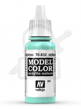 Vallejo 70832 Model Color 17 ml Verdigris Glaze