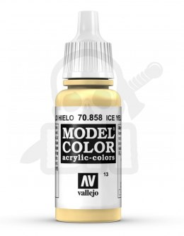 Vallejo 70858 Model Color 17 ml Ice Yellow