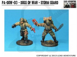 Dogs of War - Storm Guard 2 szt.