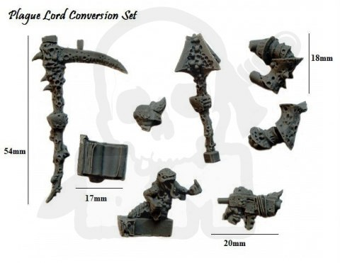 Plague Lord Conversion Set Lord plagi champion chaosu - zetaw do konwesji 1 kpl.