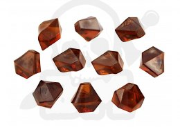 Crystal Gem 10 mm Brown