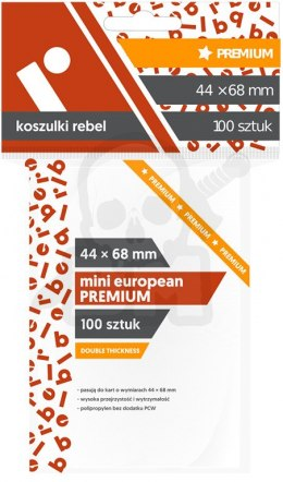 Koszulki na karty 44x68 mm Mini European Premium