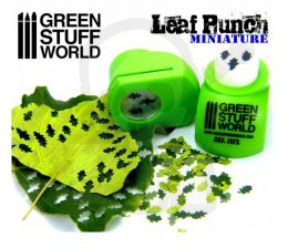 Miniature Leaf Punch LIGHT GREEN