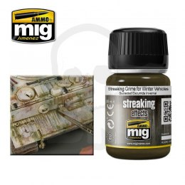 Ammo Mig 1205 Streaking Grime For Winter Vehicles