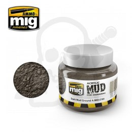 Ammo Mig 2104 Acrylic Mud Dark Mud Ground 250ml