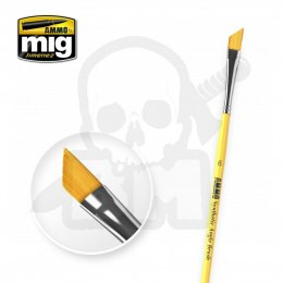 Ammo Mig 8607 6 Synthetic Angle Brush