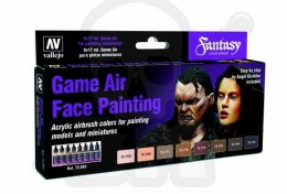 Vallejo 72865 Zestaw Game Air 8 farb - Face Painting by Angel Giraldez